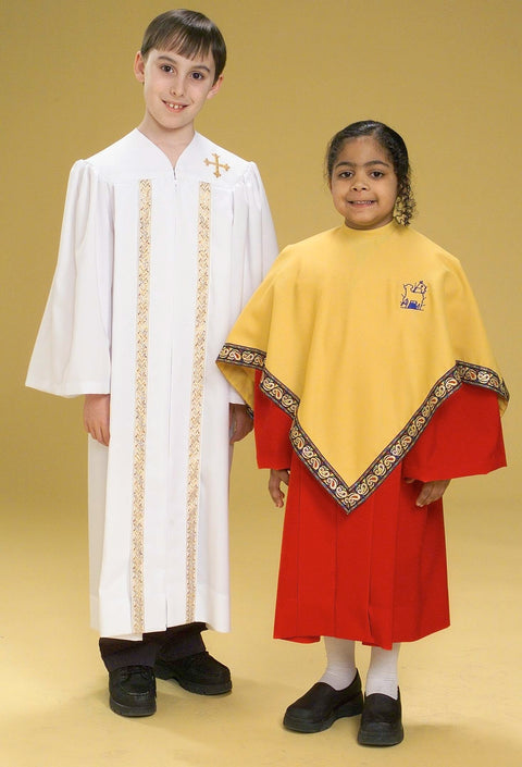 3309T 2219T Youth Choir Robes - Thomas Creative Apparel