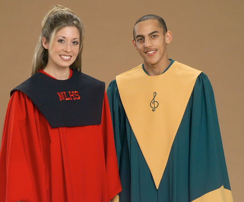 9987 9972 School Choir Stoles - Thomas Creative Apparel
