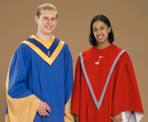 9994 9973 School Choral Stoles - Thomas Creative Apparel