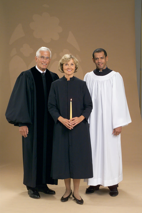 4430 2231 4802 Clergy Robe / Two Piece Vestments - Thomas Creative Apparel