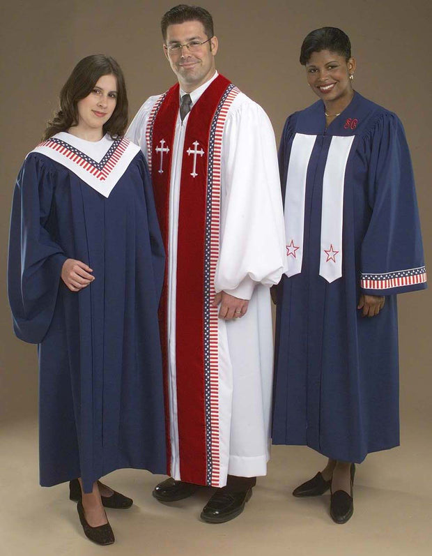 8850 9994T 4450T 8856T Choir Robes - Thomas Creative Apparel