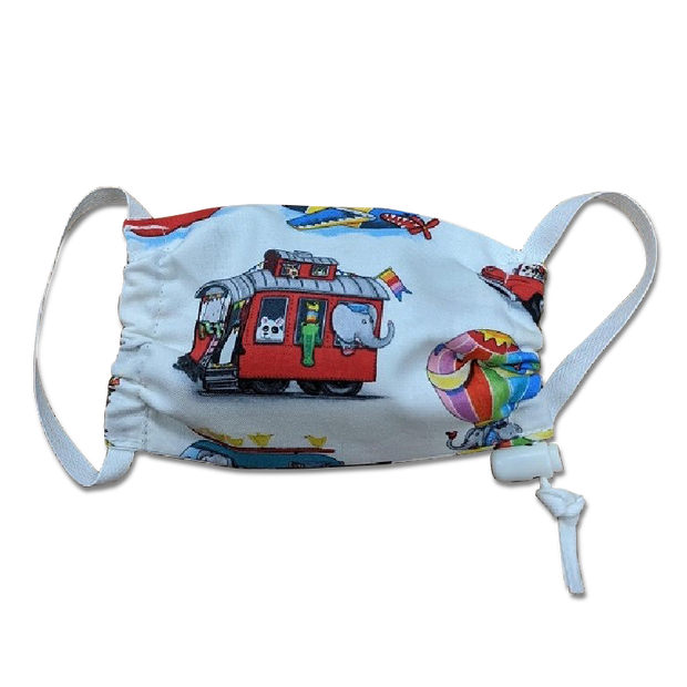 CHILD face mask - PPE - 100%  Cotton fabric - Thomas Creative Apparel