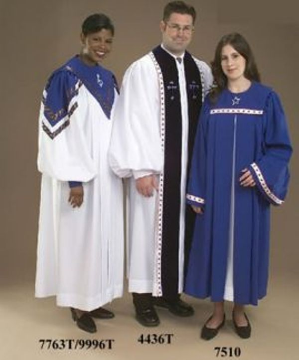 7763T 9996T 4436T 7510 Choir and Clergy Robes
