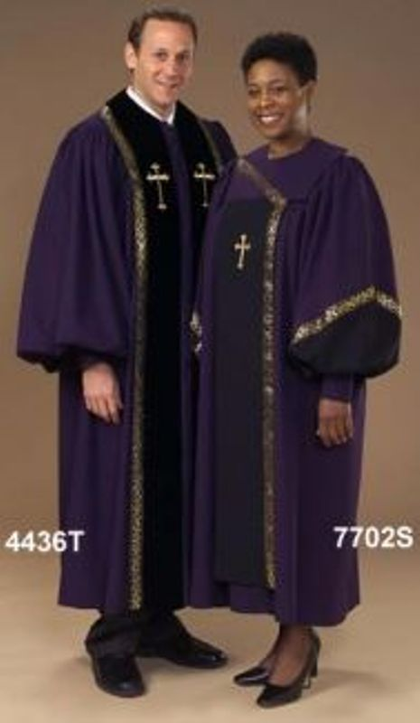 4436T 7702S Choir and Clergy Robe - Thomas Creative Apparel