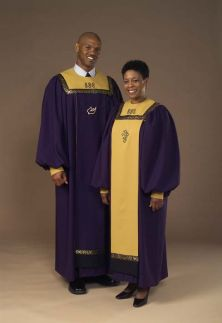 7505 Gospel Choir Robe