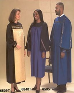 6509T 6804T 6505T Gospel Robes - Thomas Creative Apparel