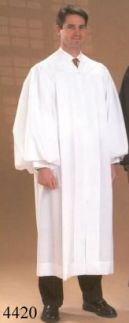 4420 Plain Clergy Robe
