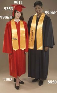 9906H 9906F Honor Stoles & Faculty Stoles - Thomas Creative Apparel