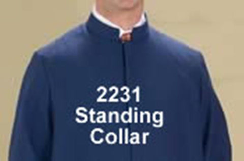 Standing Collar - Thomas Creative Apparel