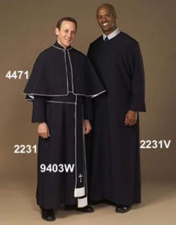 4471 2231 9403W Cassocks - Thomas Creative Apparel