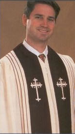 A06 RAC - Each row of cord of Clergy Robe - Thomas Creative Apparel