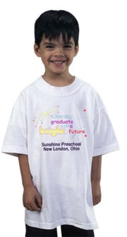 MiniGrad T-Shirt with Cap Set - Thomas Creative Apparel