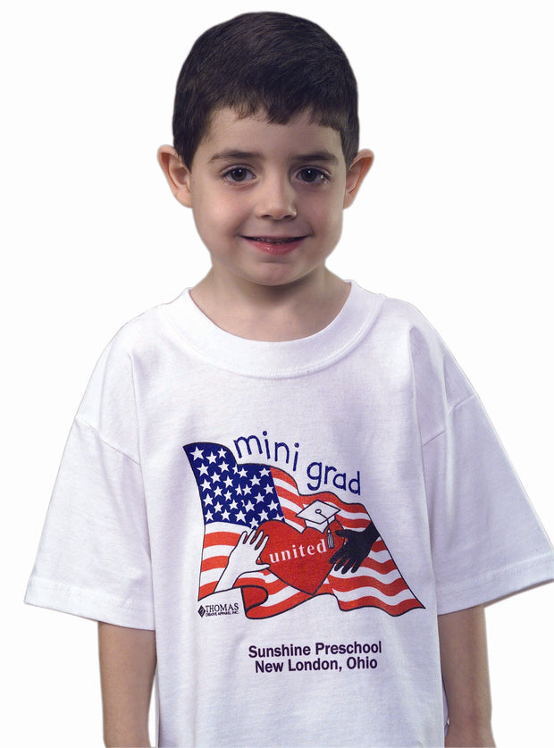 PS T-Shirt Patriotic (Personalization Not Available) - Thomas Creative Apparel
