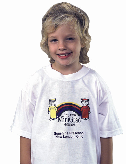 5937 T-Shirt Rainbow Minigrad - Thomas Creative Apparel