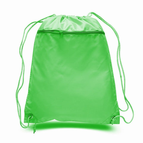 Lime Drawstring Bag - Thomas Creative Apparel