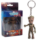 Guardians Of the Galaxy Groot Keychains