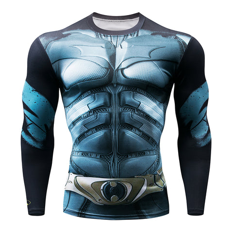 DC Heroes Fitness MMA Compression Shirt Men