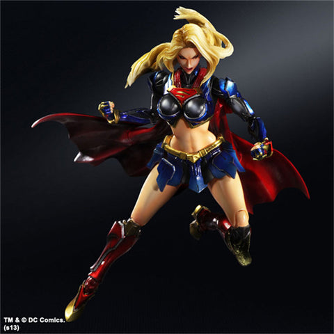 SQUARE ENIX Supergirl Action Figure Collectible Model