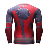 Superheroes styled Long Sleeve Compression MMA Shirts