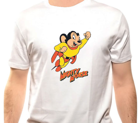 Mighty Mouse Classic Graphic T-Shirt