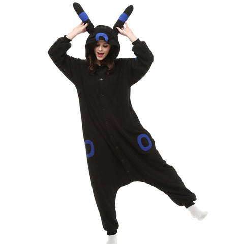 Adult Pokemon Umbreon or Espeon Onesies