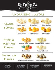 Seattle Fundraising Program Popcorn