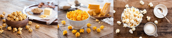 Classic Caramel | Cheddar Cheese | Kettle Corn