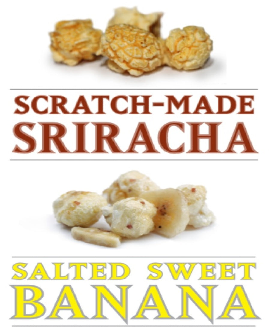 September Seasonal Specialties: Salted Sweet Banana and Scratch-made Sriracha