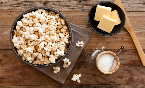 Brown Butter & Sea Salt gourmet popcorn