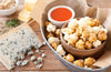 Buffalo Bleu Cheese popcorn