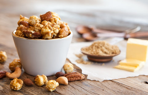 Fancy Nut Caramel popcorn