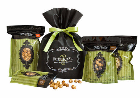KuKuRuZa Holiday Gift Bag popcorn