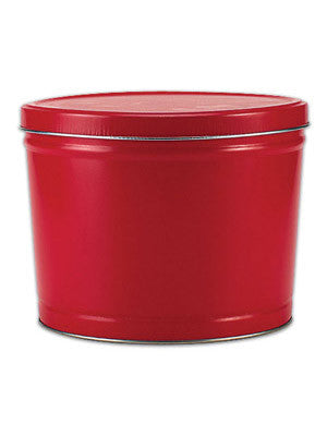 Red (2 Gallon) gourmet popcorn