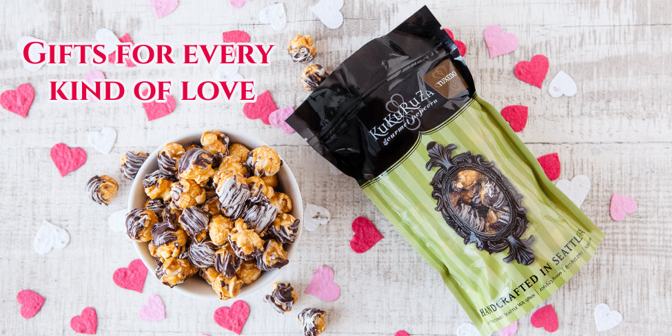 15 delicious flavors made fresh gourmet popcorn