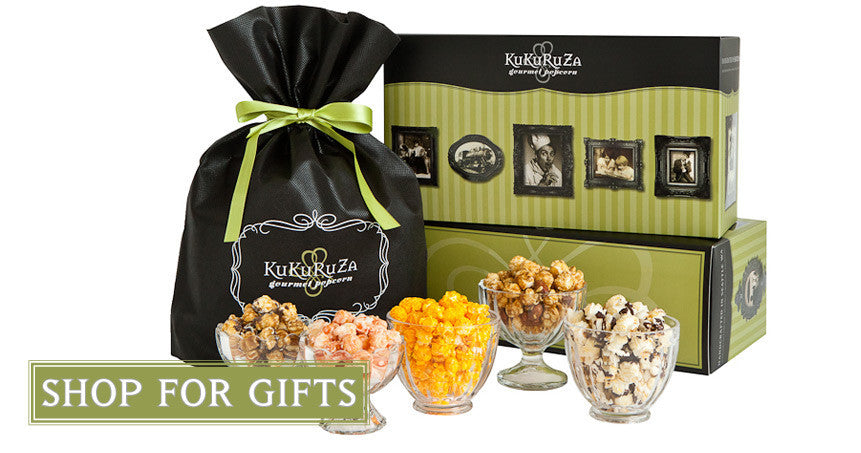 Beautiful gifts for the holidays, from Thanksgiving to Christmas Kukuruza has gourmet popcorn for every occassion.