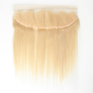 613 Blonde Straight Lace Frontals