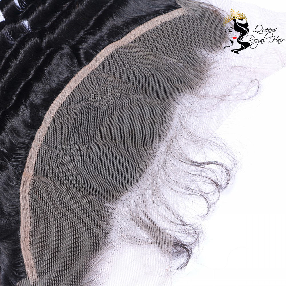 10A Virgin Deep wave Lace Frontal