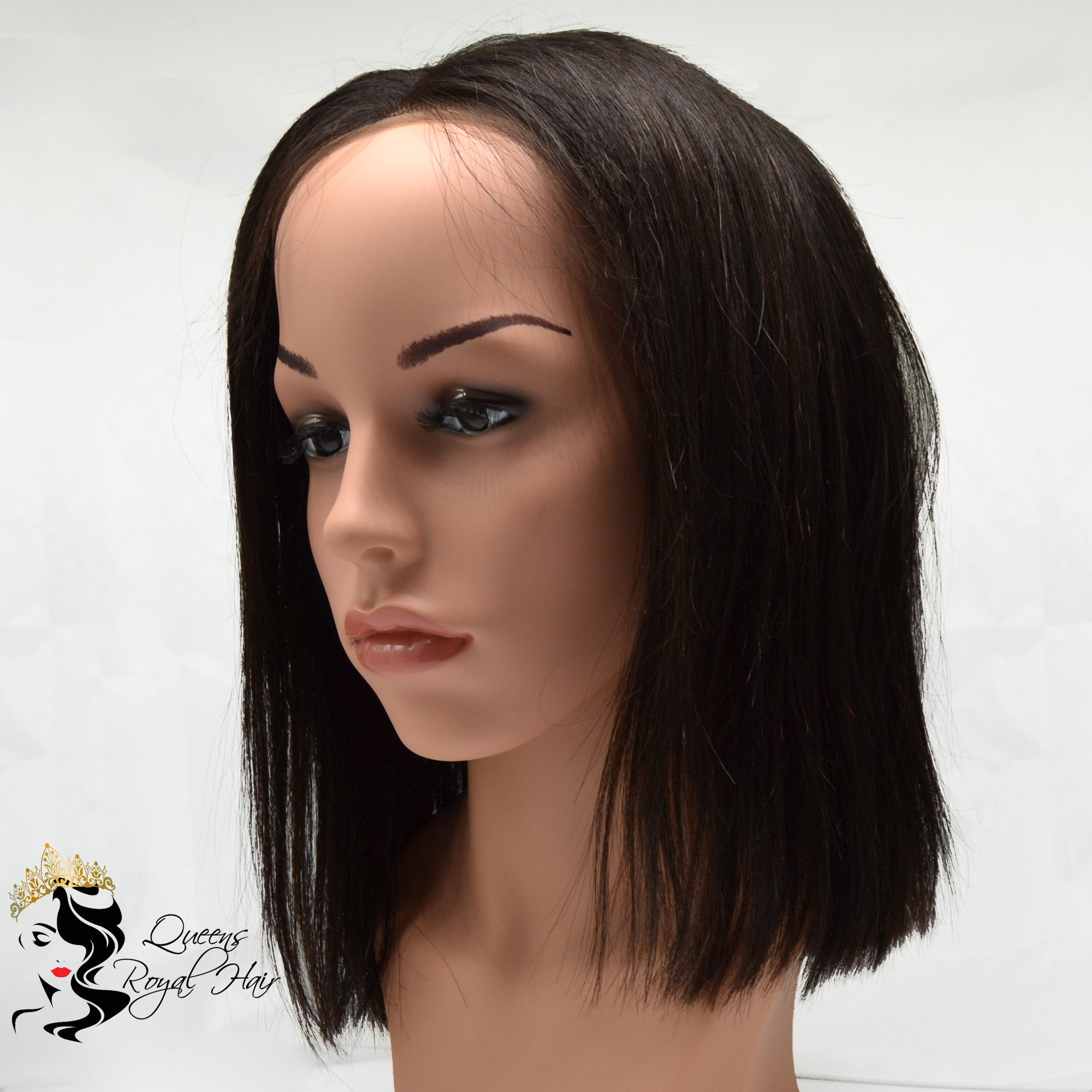 Virgin Indian Straight Frontal BOB Wig