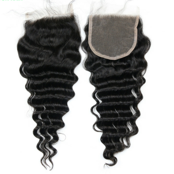 10A Virgin Deep Wave Lace Closure