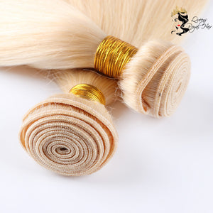 613 Blonde Body Wave Hair Bundles 10A