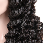 Virgin Indian Deep Wave Frontal / Full Lace Wig