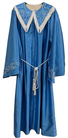 One Piece Costume with Full Sleeves and Large Collar