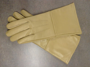 BUFF LEATHER GAUNTLET GLOVES