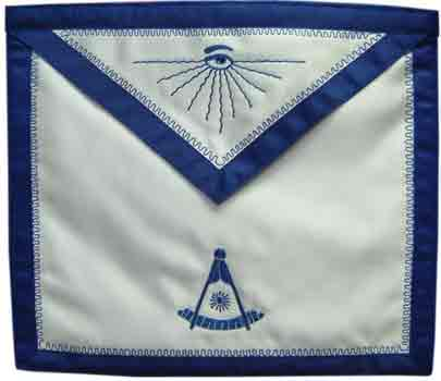 "Apron 13"" X 15"" w/ 1"" grosgrain ribbon border"