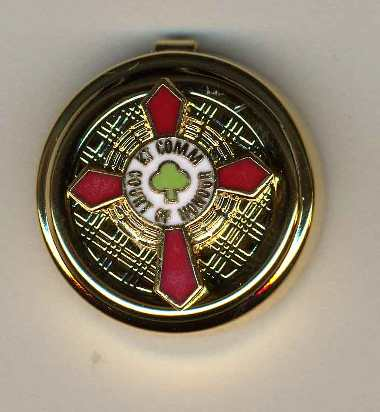 Scottish Rite KCCH Button Covers