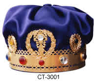 Metal Crown with Jewels