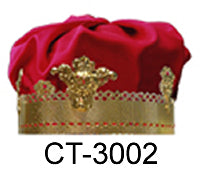 Metal Crown without Jewels