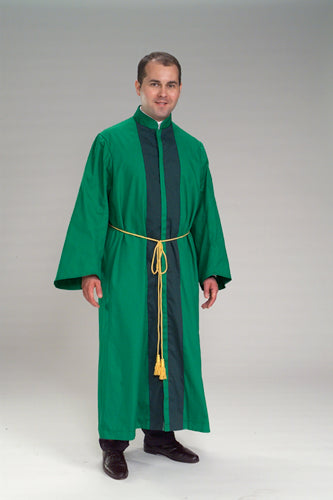 One Piece Robe - Standing Collar