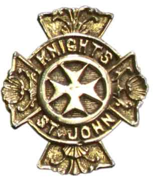 Knights of St. John Buckle - Gold