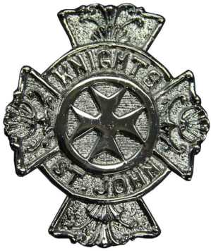Knights of St. John Buckle - Nickel
